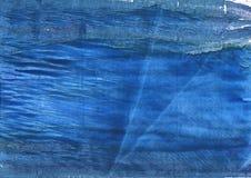 天青石摘要水彩背景 图库摄影