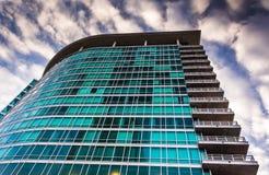 天顶公寓在巴尔的摩,马里兰 免版税库存图片