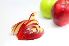 天鹅苹果 图库摄影