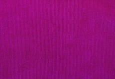 天鹅绒织品纹理,红色,背景的 免版税库存图片