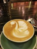 天鹅coffe 库存图片