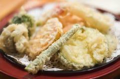 天麸罗蔬菜 免版税库存照片