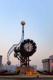 天津世纪时钟 免版税图库摄影