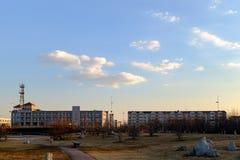 天津城市的市风景,中国 免版税库存照片