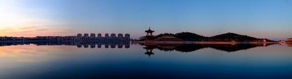 天津城市的市风景,中国 图库摄影