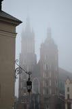 天主教会在克拉科夫 免版税库存照片