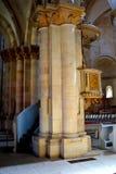 天主教会在阿尔巴尤利亚,特兰西瓦尼亚堡垒  库存图片