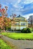天主教会在Marianske Lazne -捷克 免版税库存照片
