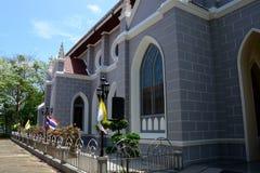 天主教会墙壁 库存图片