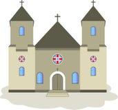 天主教会 免版税库存图片