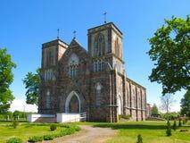 天主教会 库存照片