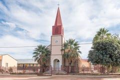 天主教使命教会在Keimoes 免版税库存图片