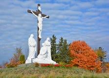 天主教公墓 库存照片