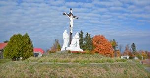 天主教公墓 免版税库存照片