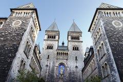 圣玛丽的我们的夫人Church柏林Kreuzberg 库存照片