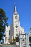 天主教圣洁教会的交叉 免版税库存图片