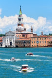天主教在威尼斯,意大利 库存图片