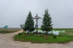 天主教在波兰 免版税库存照片