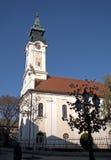 天主教堂,松博尔,塞尔维亚 免版税库存照片