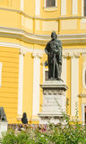 天主教大教堂在奥拉迪亚 库存照片