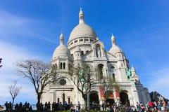 天主教大教堂在巴黎 免版税库存照片