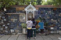 天主教徒在亚洲 免版税库存照片
