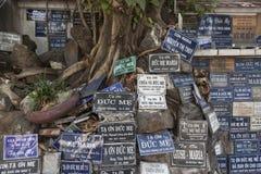 天主教徒在亚洲 免版税库存图片