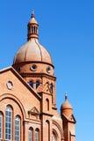 教会屋顶  免版税库存照片