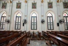 天主教教会泰国 免版税库存照片