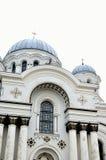 天主教教会立陶宛 免版税库存图片