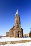 天主教教会 特写镜头 库存照片