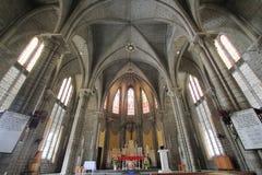 天主教主教管区在芽庄市 库存照片