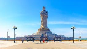 天津马祖文化公园风景  库存照片