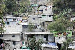 太子港的被堆积的住房 库存图片