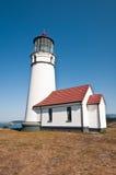 太平洋海岸灯塔 库存图片
