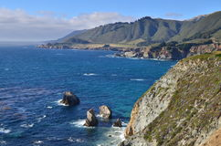 太平洋海岸高速公路, 17英里驱动器,加利福尼亚 库存图片