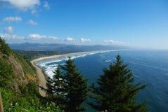太平洋海岸,俄勒冈 免版税库存照片