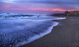 太平洋海浪 库存照片