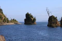 太平洋的海岛 库存图片