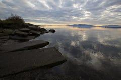 太平洋西北地区海岛 免版税图库摄影