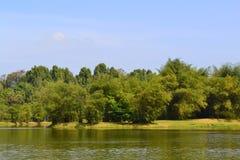 太平湖公园(塔曼Tasik太平) 免版税库存照片