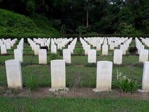 太平的二战纪念公墓 免版税库存照片
