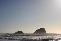 太平洋海岸雾 免版税库存照片