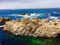 太平洋海岸高速公路景色 库存图片