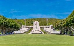 太平洋的国家公墓 免版税图库摄影