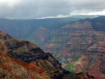 太平洋的大峡谷 免版税库存照片