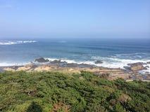 太平洋的日本边 库存图片