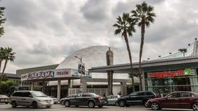 太平洋的立体声宽银幕电影圆顶剧院 库存图片