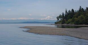 太平洋西北地区风景 免版税库存图片