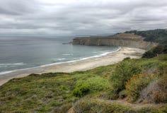 太平洋,加利福尼亚,美国 免版税库存图片